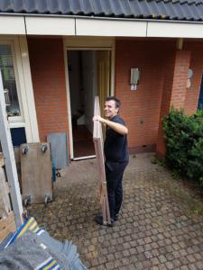 Obelix Verhuizingen Hilversum aan het werk